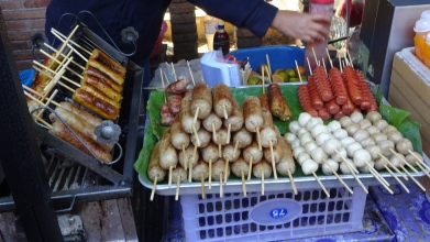 The Thais do love their sausage