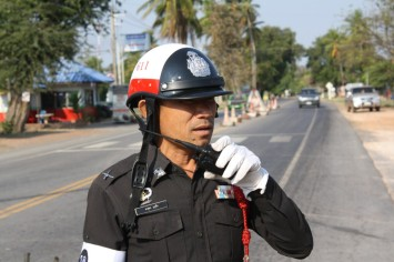 Thai police officer